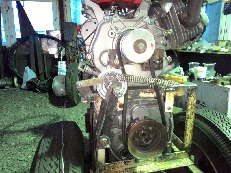 фото ременного сцепления для самодельного трактора получить абсолютно